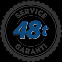 48-timers servicegaranti hos Skien & Porsgrunn Varmepumpeservice